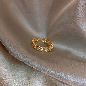 2020 классические Геометрическая поворот завернутый циркон кольцо Модные женские ювелирные изделия простой элегантный ученический кольцо Свадебные вечерние кольцо|Кольца|   | АлиЭкспресс