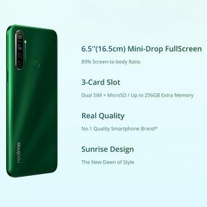Image 3 - Global Version OPPO Realme 5i  (RMX2030) 4GB 64GB Snapdragon 665 AIE 12MP Quad Camera 6.5 Smartphone 1600x720 5000mAh 4G