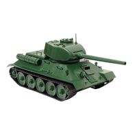 Model Building Kits OGONEK Model copy. Tank T 34\ designer toy children's team model games for boys and girls for kids toy model constructor