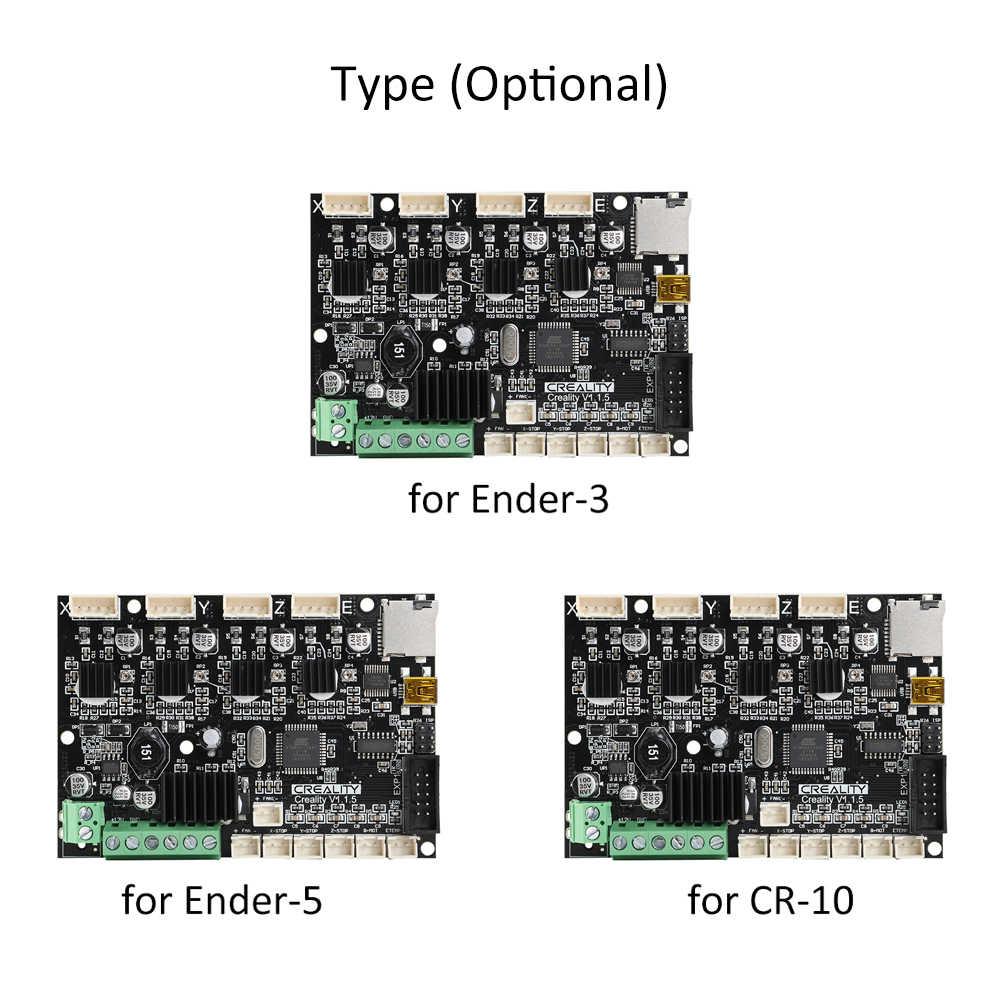 Créalité 3D 1.1.5 mise à niveau muet silencieux carte mère accessoires carte mère silencieuse pour Ender-5