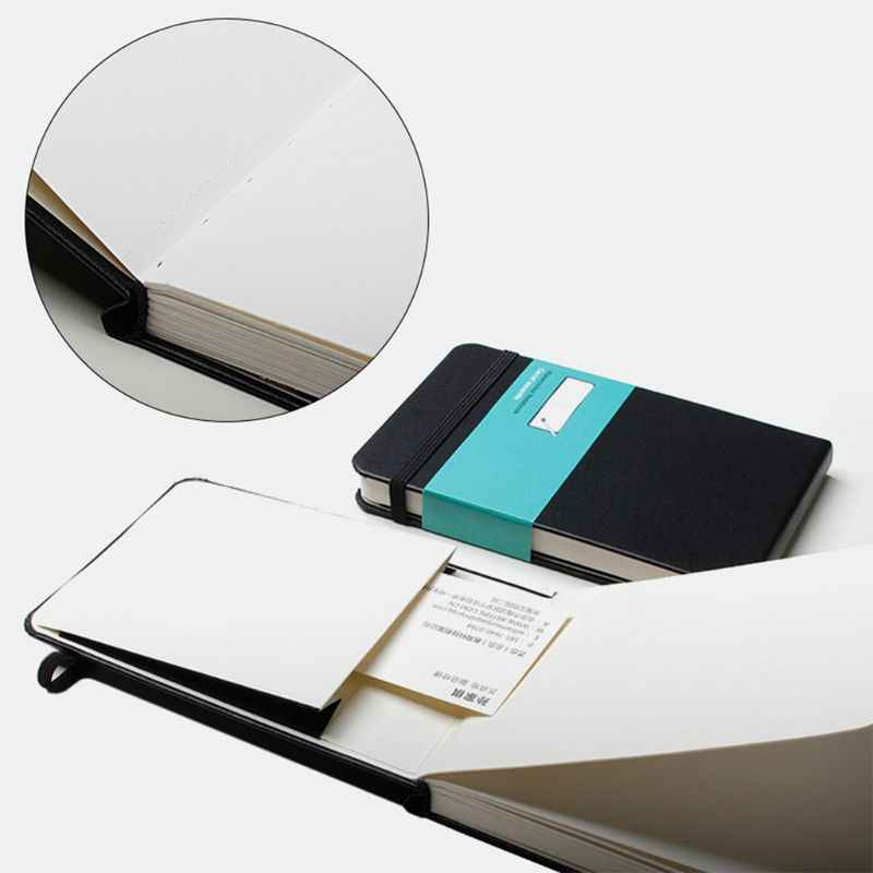 Pu レザーカバー水彩ブック A6 紙ハンドブック手塗装スケッチ旅行ポータブル塗装画材