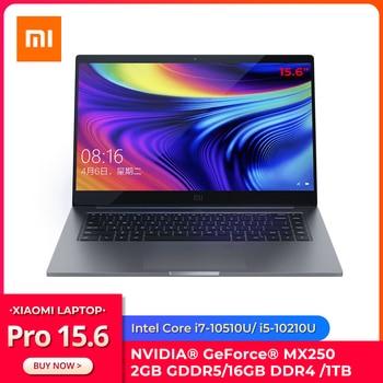"Original Xiaomi Laptop Pro 15.6"" Enhanced Notebook  i7-10510U MX250 2GB GDDR5 Memory 16GB RAM 1TB SSD Computer FHD Display 1"