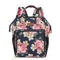 Вместительная сумка-кулер  Цветочный рюкзак  сумка-мешок  порт Тиль  Винные сумки