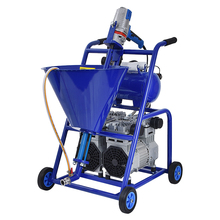 3200W High Pressure Cement Grouting Machine Industrial Cement-based Waterproof Material Putty Spraying Machine 220V 1500W 300PA