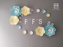 SET15# FFS 3D Artificial Flowers  Room Decoration Flower Wall Wedding  Party Backdrops  Shop Window стоимость