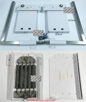 Seite Klappe DIY Murphy Wand Bett Hardware Kit Bett Umklappen Mechanismus Bett Unterstützung Hardware DIY Kit-in Schrank Scharniere aus Heimwerkerbedarf bei