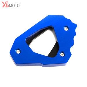 Image 5 - Moto Accessori Cavalletto Piede Laterale Del Basamento di Estensione Pad Piastra di Supporto Per Yamaha MT 10 MT 10 MT10 FZ 10 2016 2020 2019