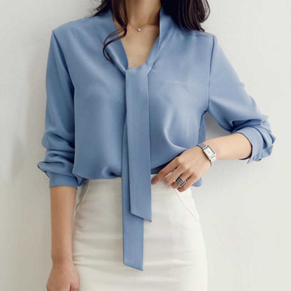 Fashion Short Sleeve Chiffon Blouse Womens Tops And Blouses Shirt 2019 Office Lady Shirt Women Tops Blusas Feminine Blouse