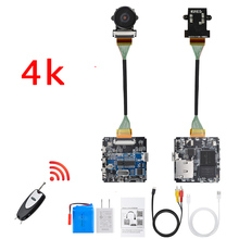 Remote Control Real 4K 4096*2160 WiFi 30fps 60fps P2P Mini Camera Video Recorder Camcorder