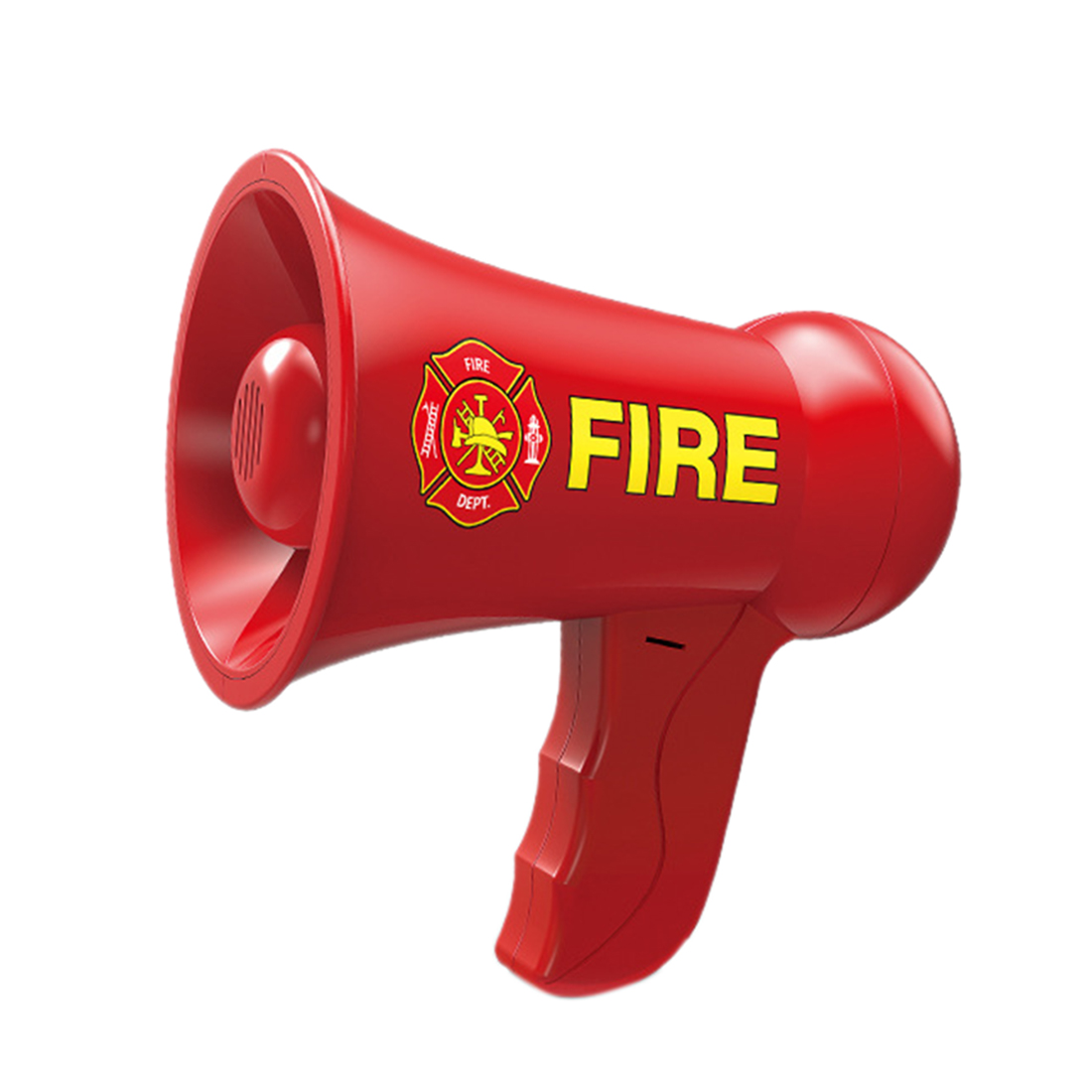 Hot Sale Pretend Play Firefighter Fireman Bullhorn Megaphone Pretend Police Officer Toy Sound For Kids Children Role Play Toy