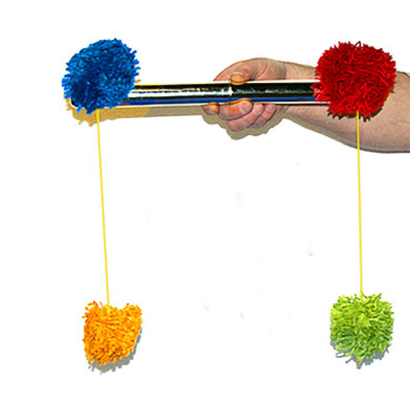 Pom Pom Stick Magic Tricks Comedy Stage Street Magia Illusions Mentalism Gimmick Props Accessories Magia Wand Fun Ball Mgaie image