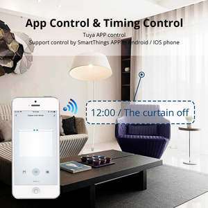 Image 5 - Zemismart Tuya Zigbee занавес трек Alexa Echo Google управление дома через Smart Life смарт вещи электрические шторы