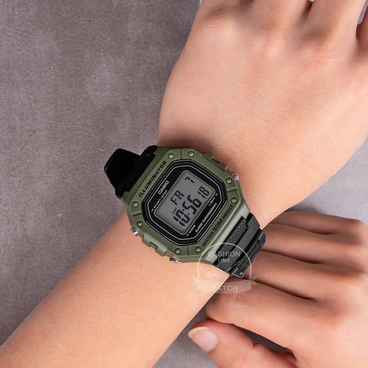 Casio นาฬิกา G ช็อกนาฬิกาชายยอดนิยมแบรนด์หรูชุดทหาร LED Relógioนาฬิกาดิจิตอลกีฬา 50 เมตรกันน้ำควอตซ์ผู้ชายนาฬิกานาฬิกาย้อนยุคตารางที่เรียบง่ายนาฬิกาสีดำสบาย ๆ คลาสสิกนาฬิกาข้อมือนาฬิกา relogio masculino reloj hombre