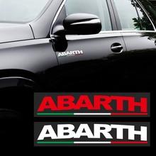 Для автомобильного стайлинга светоотражающий тела Стикеры виниловые наклейки в виде Фотообоев c переводными картинками для Fiat ABARTH Viaggio 124 695...