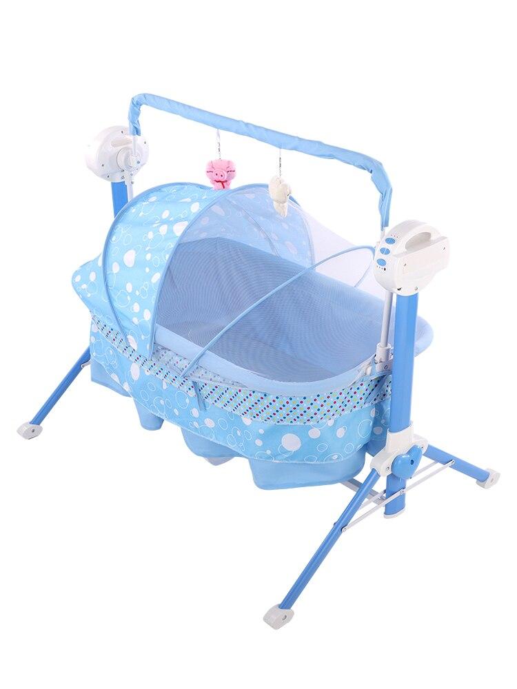 Baby Cradle Newborn Bed Electric Comfort Cradle Bed