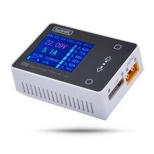 In Lager ToolkitRC M6 Servo Tester Werkzeug 150w 10A DC Ausgang 1-6s Farbe Bildschirm Multi- funktion Micro Tasche Ladegerät Und Diagnose