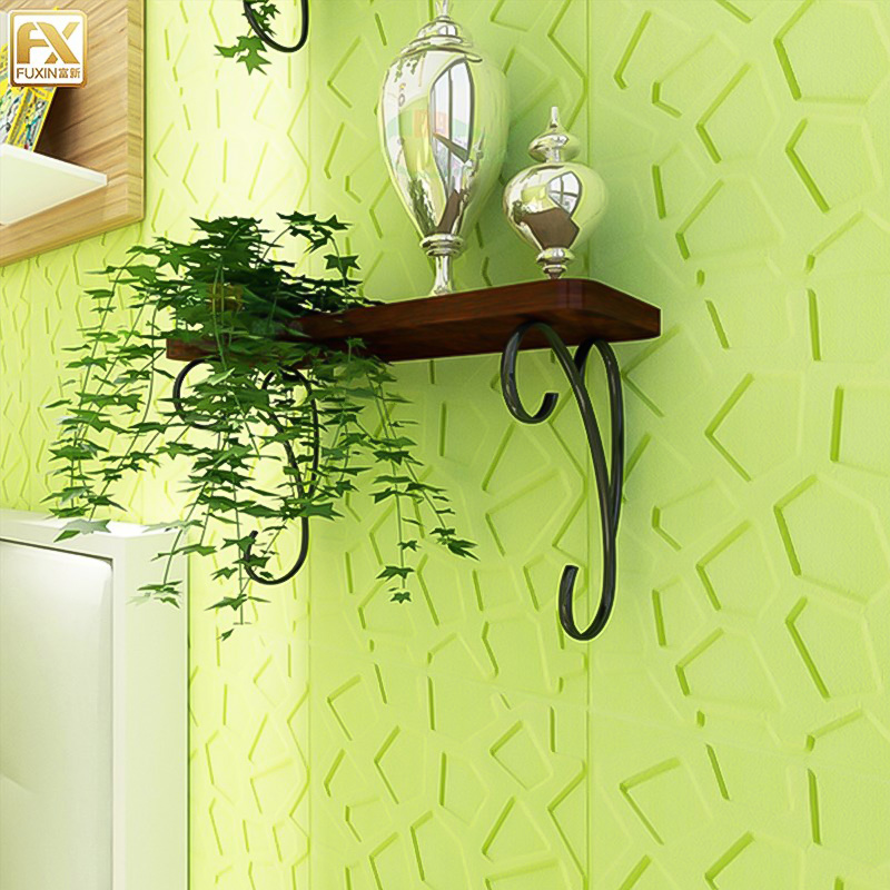 Self Adhesive Wall Sticker Waterproof TV Background Brick 3D PE Foam Wallpaper Room Mural Bedroom Decorative Stickers