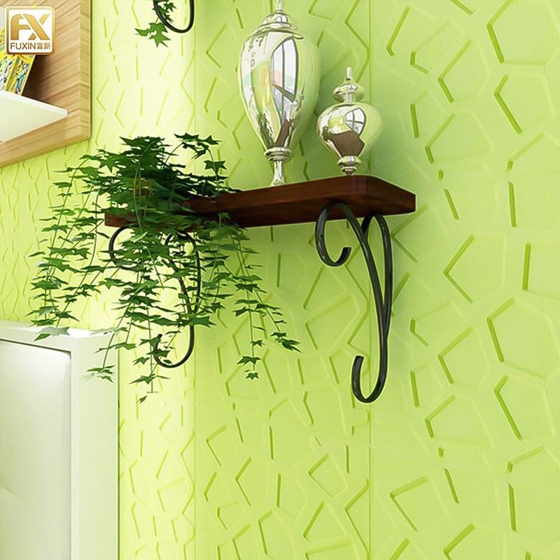 Self Adhesive Wall Sticker Waterproof TV Background Brick 3D PE Foam Wallpaper Room Mural Bedroom Decorative Stickers