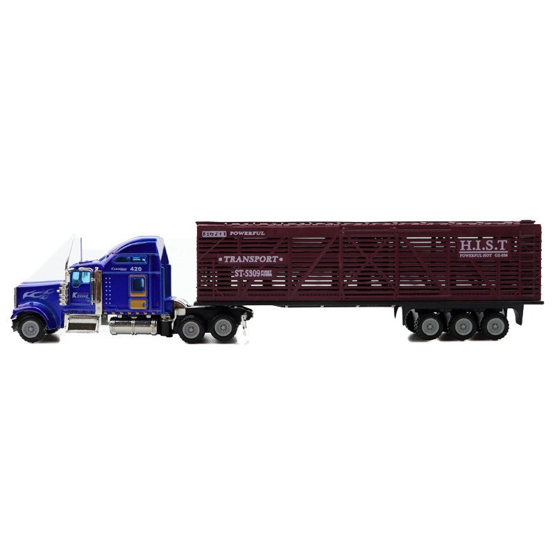 1:32 Scale Diecast Alloy Metal Truck Model Pull Back Car For Children Toys With Collection Free Shipping