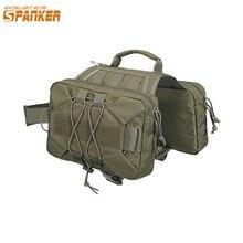 EXCELLENT ELITE mochila de senderismo con llave para perros, bolso para acampar, mediano y grande, con 2 lados capaciosos