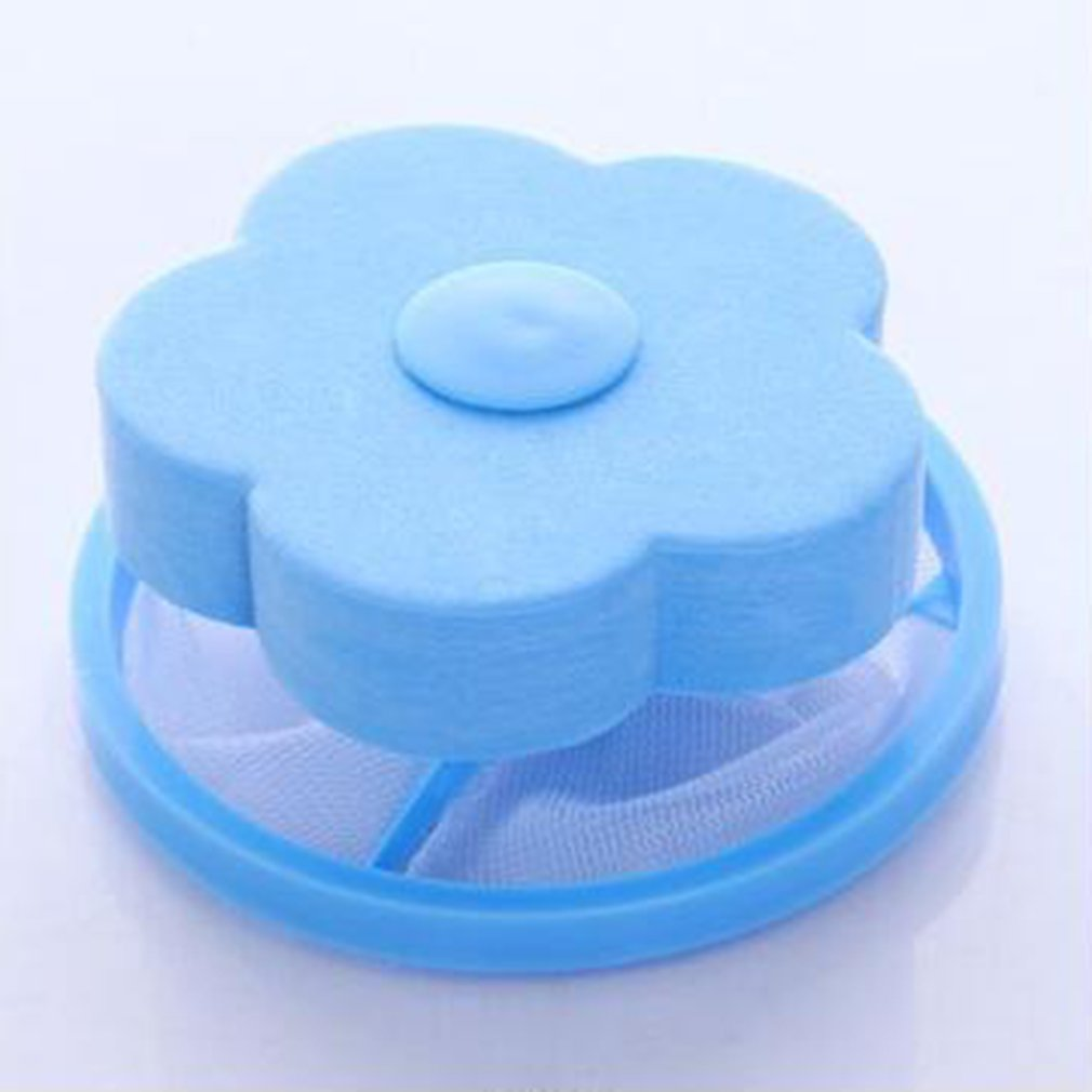 Mesh Filter Bag Floating Washing Machine Wool Filtration Hair Removal Device House Cleaning Laundry Ball