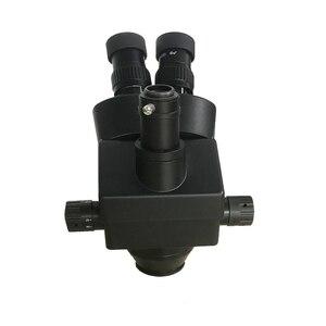 Image 3 - 38mp hdmi digital usb microscopio câmera 3.5x 90x simul focal trinocular microscópio estéreo de solda pcb kit de reparo de jóias