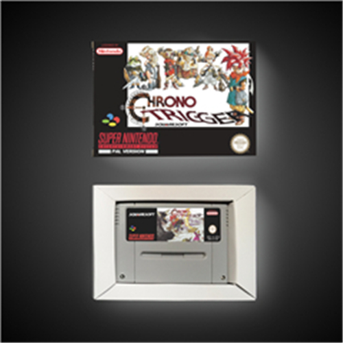 Chrono Trigger - EUR Version RPG Game Card Battery Save With Retail Box