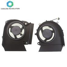Laptop CPU GPU wentylator chłodzący NS8CC06-18K24 NS8CC06-18K25 DC12V 0 50A 4Pin dla HP OMEN X 2S 15 15-DG0003NC 15-DG0075CL 15-DG0000NC tanie tanio COOLING REVOLUTION Rohs CN (pochodzenie) Procesor Intel Łożysko olejowe 100 000 godzin 4 LINIE Z tworzywa sztucznego