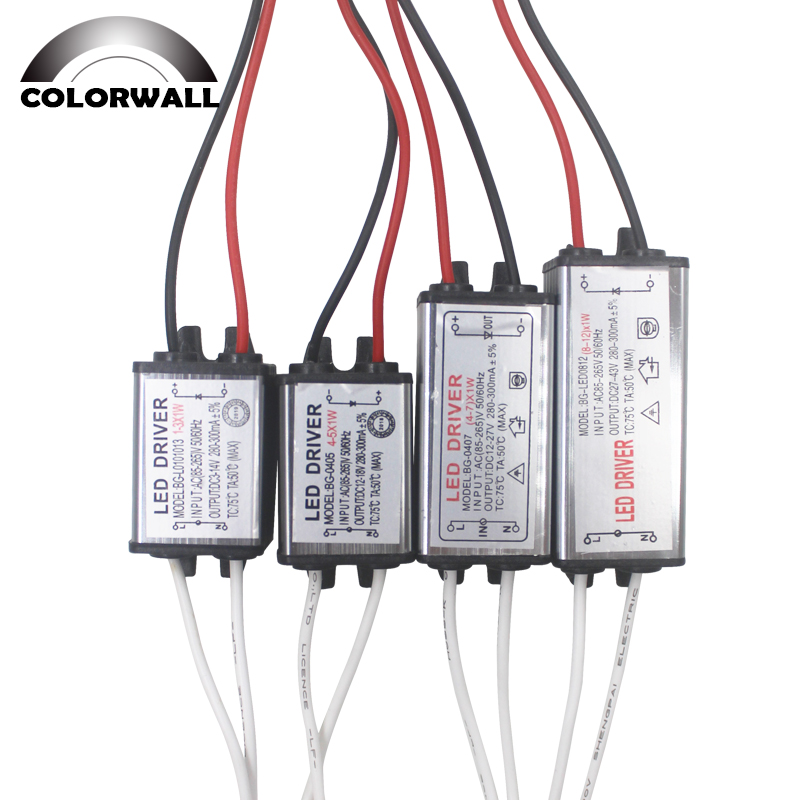 NEW 4-5 x1W High Power LED Light lamp Driver Power Supply Output 6-18V