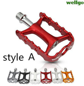 Image 5 - Wellgo Original Pedals Quick Release Device M111 Ultralight Non quick Release Bicycle Bike MTB Cycling Pedals QRD QRD1 QRD2
