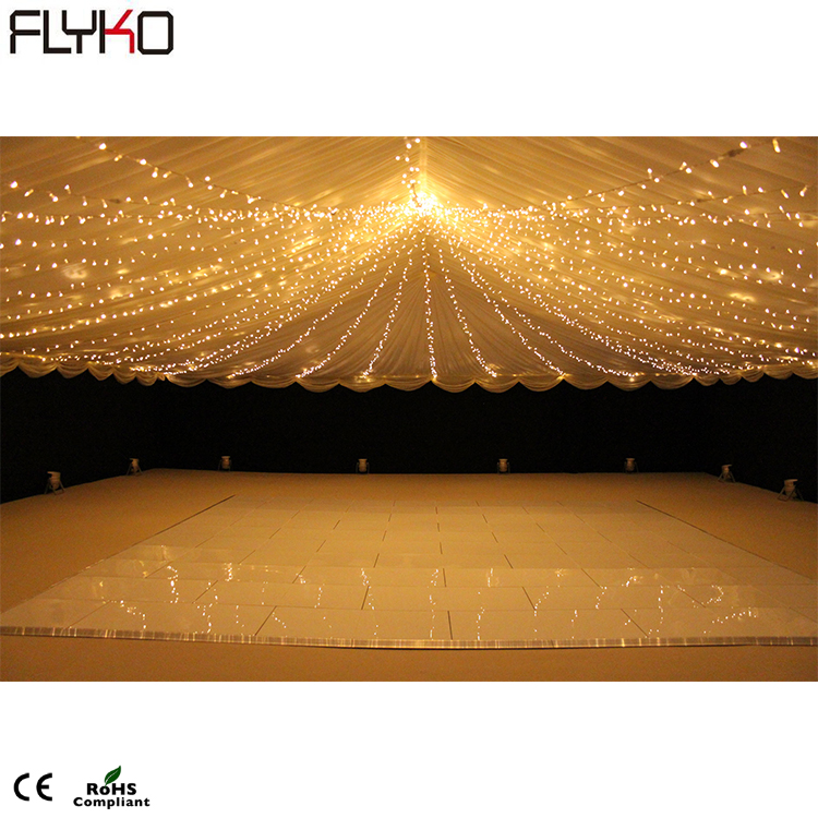 Professional Event Stage Lighting LED Starlit LED Dance Floor 60*120cm