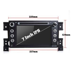 "Image 4 - Bonroad 7""2Din Android 9.0 Car dvd For suzuki grand vitara 2007 2013 Stereo gps navigation car radio USB audio video player"