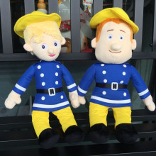 40cm fireman sam Plush Doll Penny Cartoon Toys stuffed doll For Children Christmas birthday Gifts