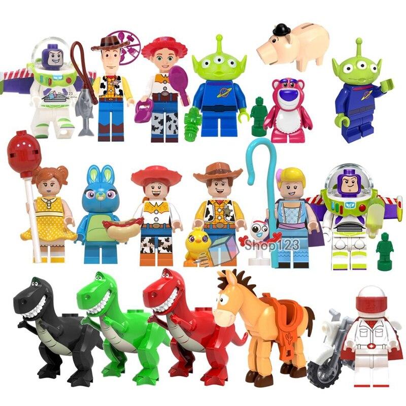 Alien Ducky Gaby Baby Bricks Blocks Mini Figures PO Woody WM6060 Jessie
