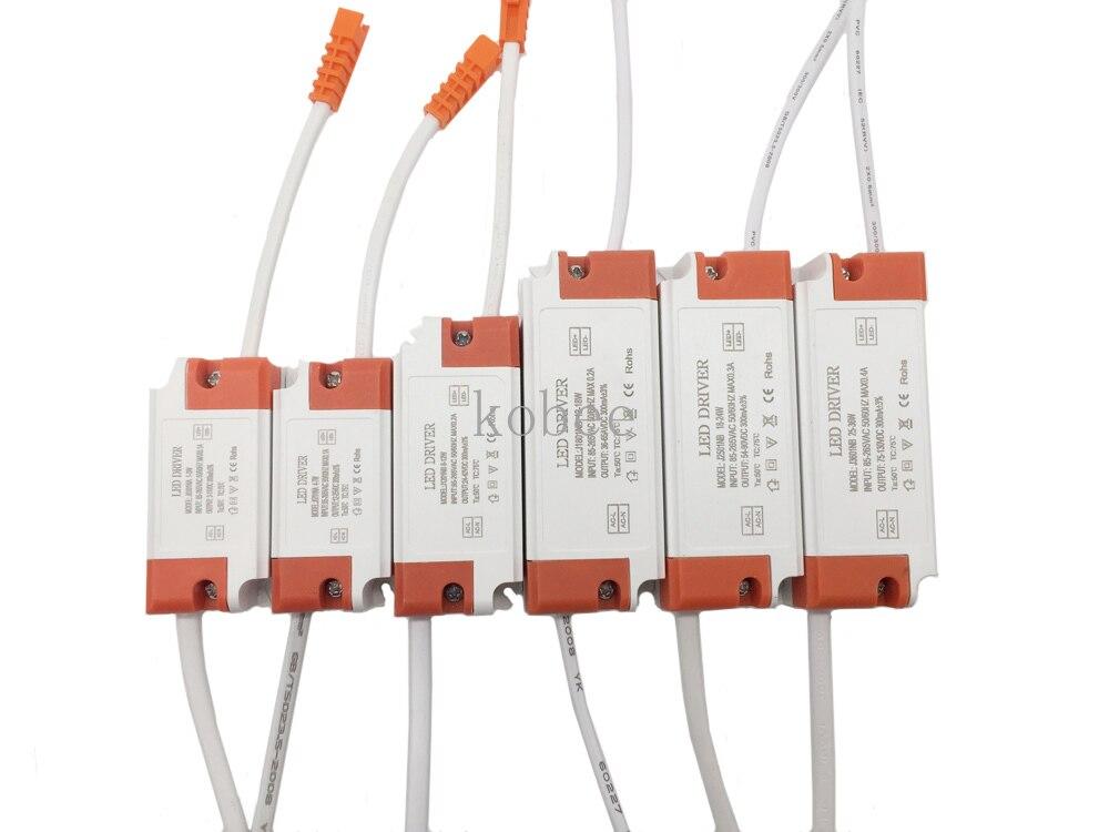 Светодиодный трансформатор 300mA, 1 Вт, 3 Вт, 5 Вт, 7 Вт, 12 Вт, 18 Вт, 20 Вт, 25 Вт, 36 Вт для светодиодного блока питания s, светодиодный трансформатор для ...