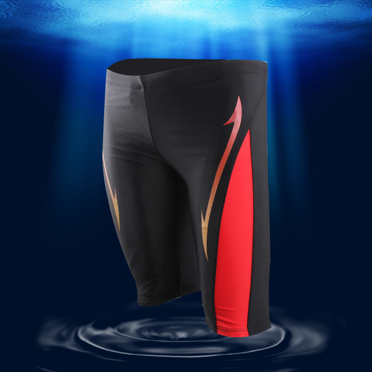 New Style Fashion & Sports MEN'S Swimming Trunks Men's Boxer Short In Leg Swimming Trunks Profession Long Swimming Trunks 1506