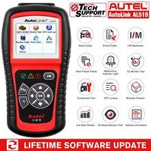 Autel AutoLink AL519 Auto Diagnostic Tool Scanner Car Fault Code Reader OBD2 CAN Code Reader Scanner Upgrade version of MS509