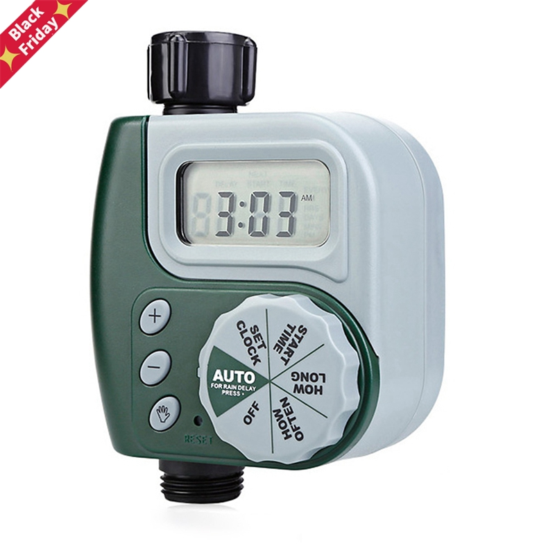 2020 Garden Tools Watering Timer Irrigation Controller Plastic Programmable Automatic Electronic Home Hose Faucet Automatic Play