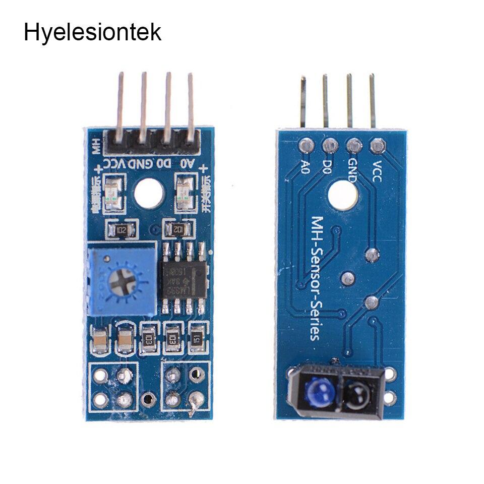 10 pces tcrt5000 ir sensor para arduino infravermelho interruptor fotoelétrico detector ir infravermelho linha módulo de rastreamento óptico placa do diodo