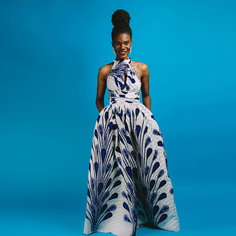 Women 2020 Fashion Clothing African Clothes Bazin Floral Festival Danshiki Vestidos Long Robe Sexy African Dresses For Women