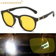 Gran oferta Gafas de sol polarizadas con espejo para mujer Gafas de conducción redondas Retro para hombre Gafas antideslumbrantes para hombre 1061