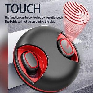 Image 4 - Écouteurs sans fil Bluetooth 5.0 TWS, oreillettes de sport, casque de jeu, étanches, avec boîte de chargement