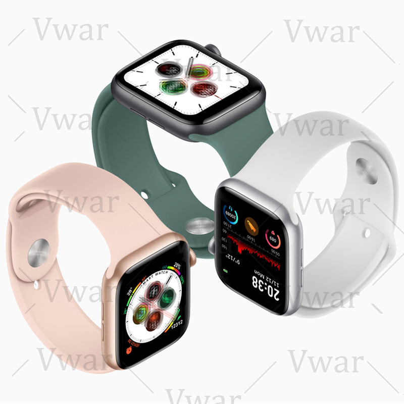 2020 IWO Pro Series 5 Smart Watch 44mm 40mm For Apple IOS Android Heart Rate Siri Bluetooth Call Music Player PK IWO 12 8 Iwo11