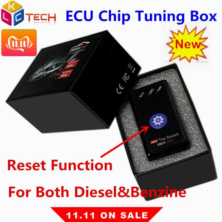 Newest Best For Diesel Benzine Both 2in1 Super OBDIICAT Super OBD2 Power Prog Chip Tuning Box Better Than Nitro OBD2 ECO OBD2