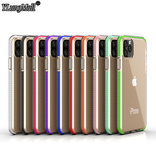 Transparent Rubber TPU Phone Case on for Coque iPhone 11 Pro Max 2019 Case iPhone XR X XS Max 8 7 6 6s Plus Case Soft Back Cover new iphone case for iphone 11 for iphone11 pro max 5 8 inches 6 1 inches 6 8 inches 6 6s 7 8 plus ix xr max x fashion back cover