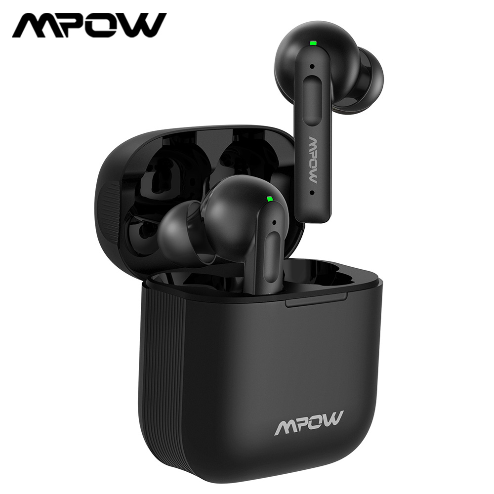Mpow X3 ANC True Wireless Earphones Active Noise Cancelling Bluetooth 5 0 In-Ear Mini Earbuds with Touch Control 30-Hrs Playback