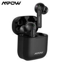 Mpow X3 ANC gerçek kablosuz kulaklık aktif gürültü iptal Bluetooth 5.0 kulak Mini kulaklık dokunmatik kontrol ile 30-Hrs oynatma