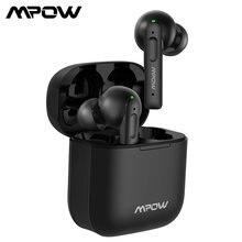 Mpow x3 anc verdadeiro sem fio fones de ouvido cancelamento de ruído ativo bluetooth 5.0 in-ear mini fones de ouvido com controle de toque 30-hrs reprodução