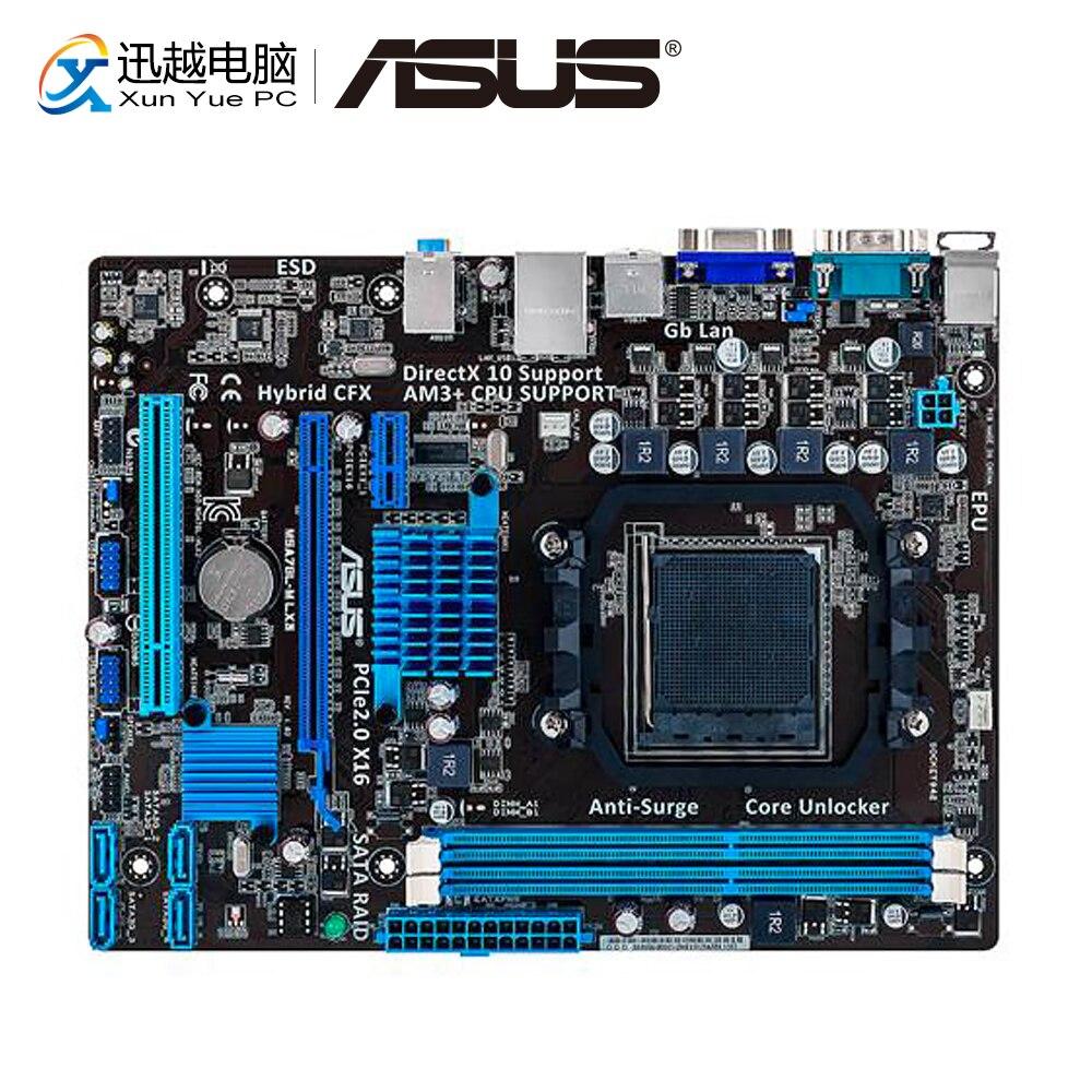 Asus M5A78L-M LX3 Desktop Motherboard AMD AM3/AM3+ 760G/780L FX/Phenom II DDR3 16G SATA2 USB2.0 VGA Micro-ATX Used Mainboard