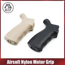 Airsoft Taktische Wasser Gel Ball Blaster AEG Airsoft Nylon Motor Grip Grip mit 480 motor metall basis abdeckung fall